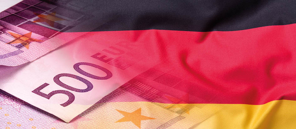 German growth having narrowly missed falling into recession