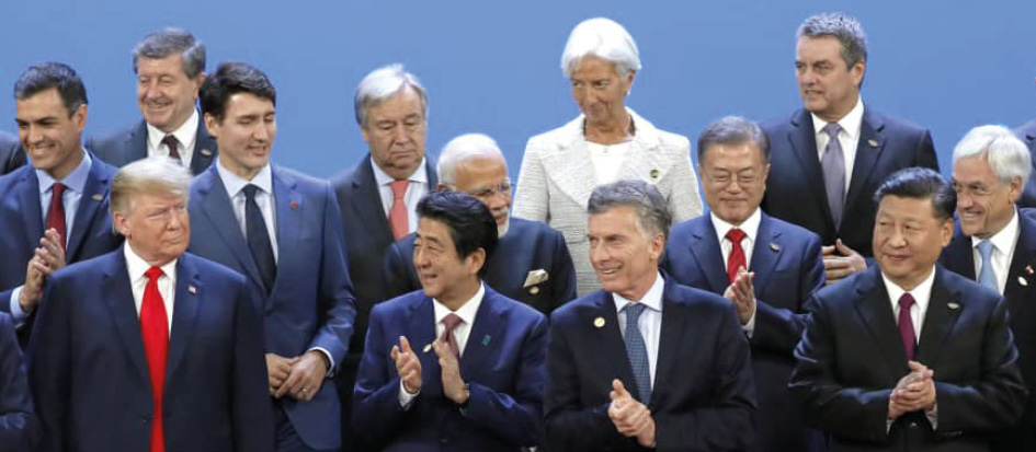 G20 meeting in Japan