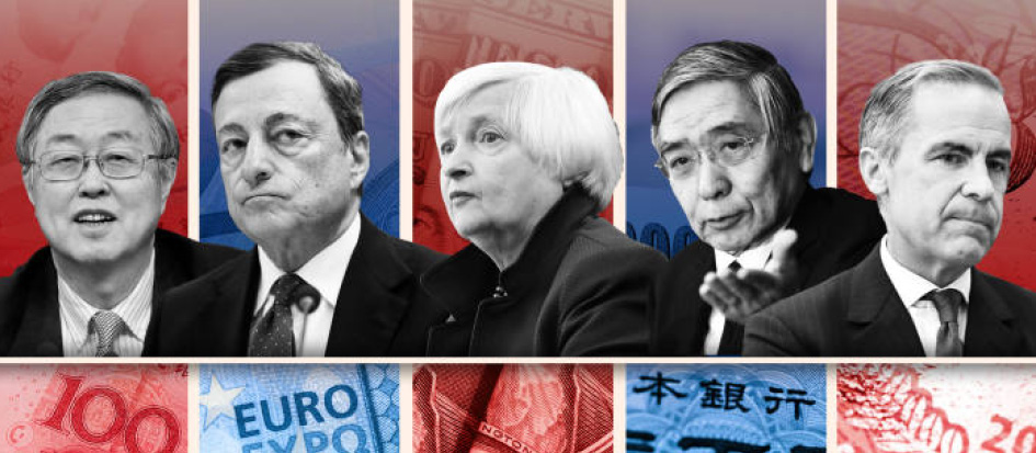 Bonds supported by dovish central bankers
