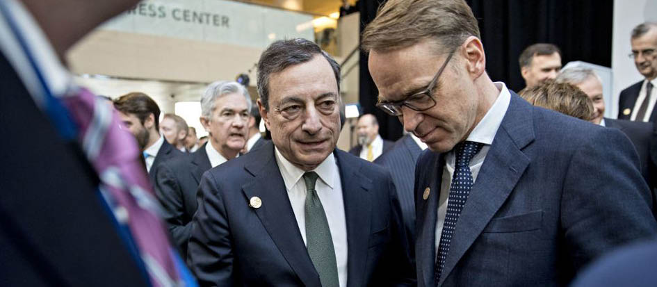 Markets relieved by Mario Draghi's replacement